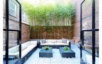 Amazingly Zen garden in TriBeCa Outdoor Spaces, Outdoor Living, Outdoor Decor, Outdoor Ideas, Aspen Real Estate, Balinese Garden, Plein Air, Townhouse, Home And Garden
