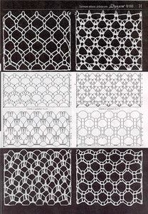 open and airy crochet stitch designs Photo from album Crochet Lace Edging, Crochet Motifs, Crochet Diagram, Crochet Stitches Patterns, Crochet Chart, Crochet Squares, Filet Crochet, Irish Crochet, Crochet Doilies
