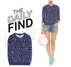 """""""The Daily Find: A.P.C. Pullover"""" by polyvore-editorial ❤ liked on Polyvore"""