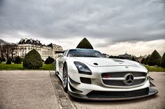 Mercedes SLS AMG - love this pic