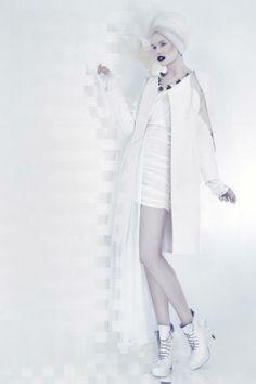 For SLOW magazine: Designer, coat: Boska by Eliza Borkowska Photos: Koty 2 (www.koty2.com) Model: Magda Roman (D'Vision) Stylist: Anna Jandura Hair i make-up: Sylwia Smuniewska