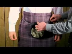 How to wear a Traditional Formal Kilt Outfit, Tips and Tricks for Putting on Correctly - YouTube
