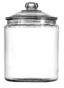 Anchor Hocking 69372T 2 Gallon Glass Jar with Cover