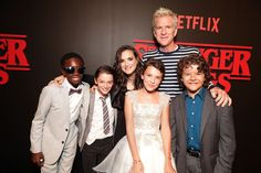 Looks like the #StrangerThings cast found Will at the premiere!