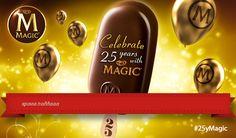 Μόλις πήρα μέρος στο μεγάλο διαγωνισμό για τα 25α γενέθλια του Magic. Ένα ταξίδι στις Κάννες με περιμένει! Παίξε κι εσύ στον μεγάλο διαγωνισμό! Happy 25th Birthday, Magic Birthday, Happy Magic, Happy B Day, Love Chocolate, Coffee Bottle, I Foods, Lemonade, Sweet Recipes