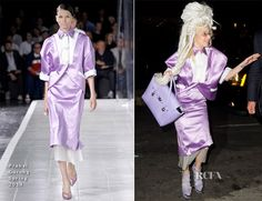 Lady Gaga In Prabal Gurung – Out In New York City