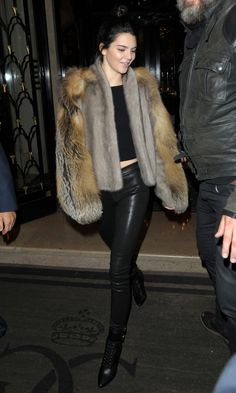 10/02/15 - Kendall Jenner out and about in Paris.