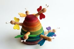 Welcome, Bees - a Sensory Bin Add On - Montessori and Waldorf Inspired Learning Toy. $19.00, via Etsy.  I WANT THIS FOR WORK!  FINE MOTOR AT ITS FINEST!