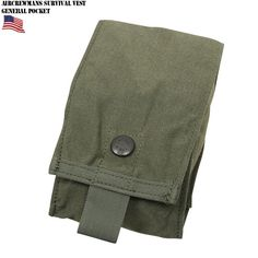 AIRCREWMAN'S SURVIVAL VEST GENERAL POCKET