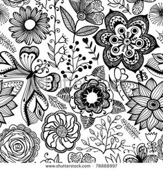 303 best patterns for websites images paint texture textured Textured Acrylic Painting black and white images of butterflie s on flowers texture black and white design black