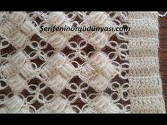 Crochet Flower Spirals In Center Tutorial 59 Part 1 of 2 - Crochet Swaddle Crochet Motifs, Crochet Stitches Patterns, Baby Knitting Patterns, Crochet Shawl, Crochet Designs, Knit Crochet, Beginning Crochet, Single Crochet Stitch, Crochet Videos
