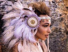 Amala- The lightworker headdress