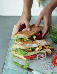 Chicken Tikka Sandwich Recipe By Chef Zakir