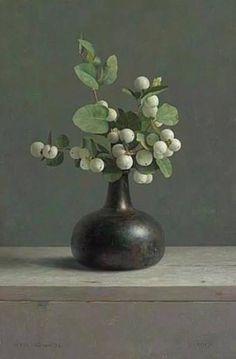 Mia Feigelson FB Натюрморт Галерея на Henk Helmantel (голландский, 1945) масляной живописи частная коллекция