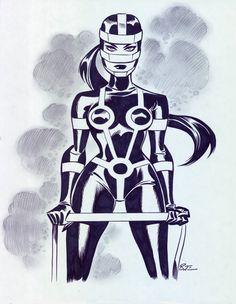 Bruce Timm, Anubis, Comic Books Art, Book Art, Harley Quinn, Dc Comics, Female Furies, Univers Dc, Batman