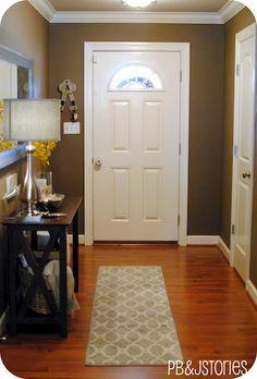 entry the closet door