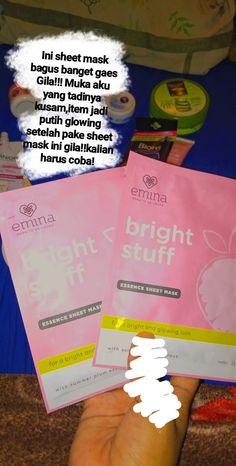 Pengalaman pake produk emina emina Night skincare Experience using emina products Face Skin Care, Diy Skin Care, Beauty Care, Beauty Skin, Beauty Tips, Skin Care Routine Steps, Skin Makeup, Body Care, Sheet Mask