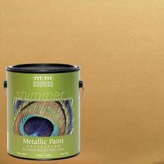 Modern Masters 1 gal. Pale Gold Metallic Interior/Exterior Paint ME200GAL at The Home Depot - Mobile