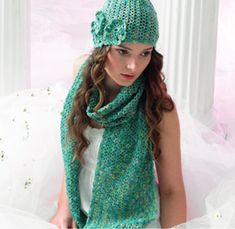 Crochet Hat & Scarf in Araucania Botany Lace. Discover more Patterns by Araucania at LoveKnitting. The world's largest range of knitting supplies - we stock patterns, yarn, needles and books from all of your favorite brands.