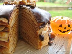 The Sweet Tooth Chronicles: Pumpkin Crepe Cake Recipe