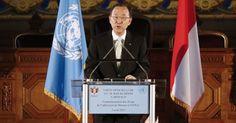 Secretário da ONU pede urgência na criação de metas globais para o clima