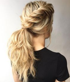 Ponytail vibes : Featured hairstyle inspiration - Michael Gray Hair #hairstyle #braids #hair #weddinghairstyle #Hairstyle #Braid #BraidIdeas #BraidInspo #BraidedHair #Braidstyles