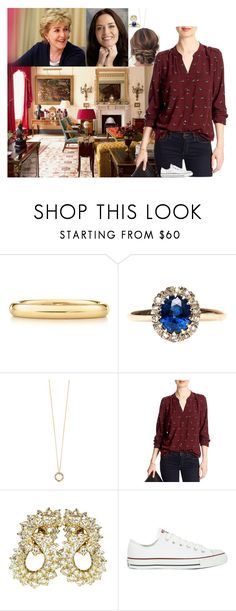 """""""Going over the updated schedule for the week"""" by lady-maud ❤ liked on Polyvore featuring Elsa Peretti, Jonathan Cohen, Banana Republic, Just USA and Converse"""