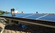 Impianto fotovoltaico ad OSIMO da 3,00 kWp su copertura - 12 moduli BRANDONI in SILICIO POLICRISTALLINO da 245 Wp