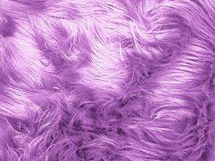 Faux/Fake Fur Luxury Shag Lavender 58 Inch Fabric by the Yard - 1 Yard…
