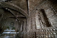 Bone cathedral  Capela Dos Ossos, Évora, Portugal