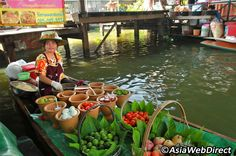 Just few kilometres outside Bangkok but still far enough to not yet have been converted into a full scale tourist attraction is the charming Taling Chan Floating Market. It has everything you need to spend a good half day without having to book a tour and it is far more