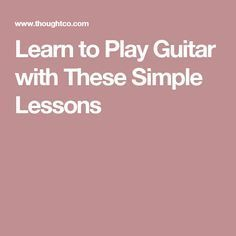 These online guitar lessons for beginners help you learn how to play in simple steps. You'll be playing songs in no time with these easy tutorials. Online Guitar Lessons, Guitar Lessons For Beginners, Music Lessons, Guitar Chords, Acoustic Guitar, Playing Guitar, Learning Guitar, Easy Guitar Songs, Play That Funky Music