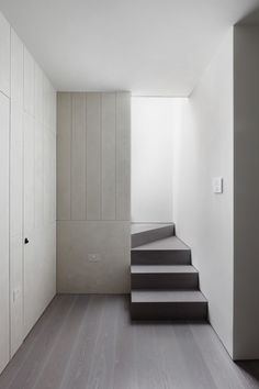 Maida Vale Apartment is a minimalist refurbishment located in London, United Kingdom, designed by MWAI. The project is a renovation of a split-level top floor apartment in a Victorian terrace in central London. At the heart of the project is the beautifully crafted entrance hall. The space provides the occupant their first impression of the home and all other spaces connect off it. Soft textured polished plaster in a carefully controlled linear pattern transforms the space into a calming…
