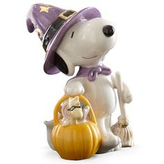 Snoopy s Bewitching Treats Figurine By Lenox