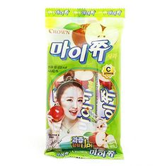 クラウン Crown マイチュ リンゴの味  韓国のソフトキャンディ 132g(44gx3)【海外直発送] マイチュ http://www.amazon.co.jp/dp/B00WZHK3IK/ref=cm_sw_r_pi_dp_5A4qvb0999J1Z