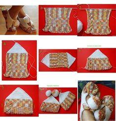 Crochet Patterns: Nasıl Tığ bir Piece ile Zaptillas için
