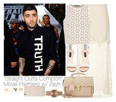 """""""""""Straight Outta Compton"""" Movie Premiere w/ Zayn"""" by vane-abreu ❤ liked on Polyvore featuring Topshop, Alexander McQueen, Forever New, Yves Saint Laurent and Charlotte Russe"""
