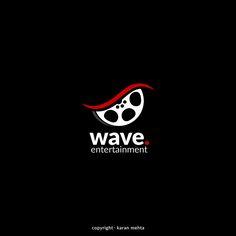 Logo Design   Wave Entertainment  Copyright.karanmehta.2016