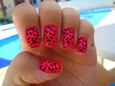 30 Fierce Animal Print Nail Designs #leopardnails #nailart #amazingnails #animalprintnails
