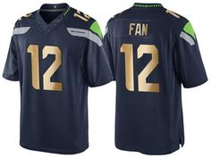 c432fe7d7 Buy Nike Seattle Seahawks Richard Sherman 2016 Christmas Navy Golden Men s  NFL Game Special Edition Jersey from Reliable Nike Seattle Seahawks Richard  ...