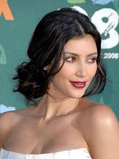 Kim Kardashian's beauty evolution: Teen Choice Awards 2008