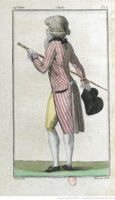 Magasin des modes nouvelles, françaises et anglaises, décrites d'une manière claire & précise, & représentées par des planches en taille-douce, enluminées