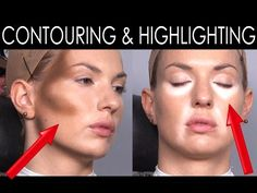 Make-Up Atelier Paris: Cours de maquillage Contouring & Highlighting [HD] - YouTube