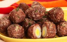 Receita de bolinho de carne com ovo de Tania Carlquist, chef na Unilever