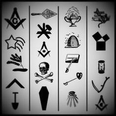 47 best Symbols images on Pinterest | Masonic symbols, Freemasonry ...
