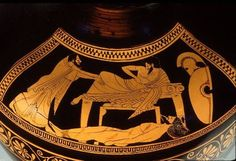 Priam offers ransom to Achilles for Hector's body