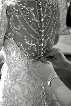 beautiful button detail