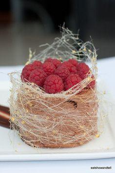 Food | Sweet | Dessert - Spun Sugar Nests