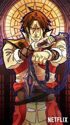 Stained glass phone wallpapers from Castlevania. Belmont Castlevania, Castlevania Dracula, Alucard Castlevania, Castlevania Netflix, Castlevania Lord Of Shadow, Castlevania Wallpaper, Game Character, Character Design, Trevor Belmont