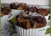Višňové muffiny s čokoládou Cupcakes, Treats, Breakfast, Sweet, Food, Sweet Like Candy, Morning Coffee, Candy, Cupcake Cakes